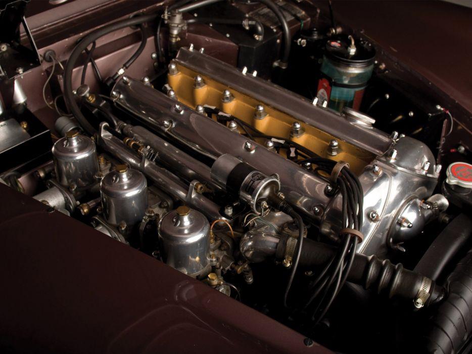 1951 Jaguar XK 150 Roadster x-k retro engine engines wallpaper