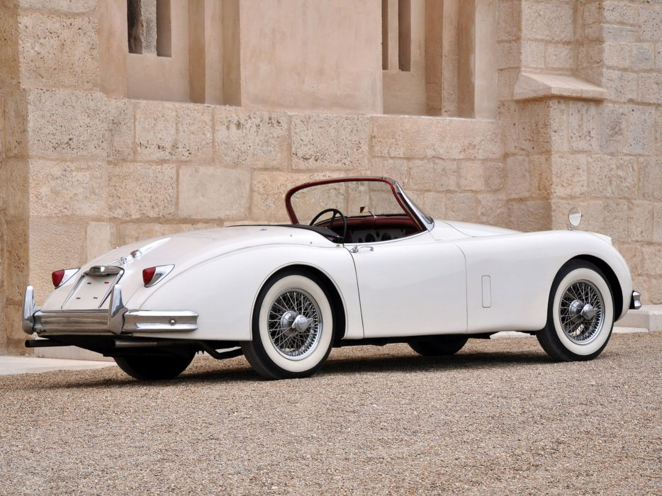 1951 Jaguar XK 150 Roadster x-k retro g wallpaper