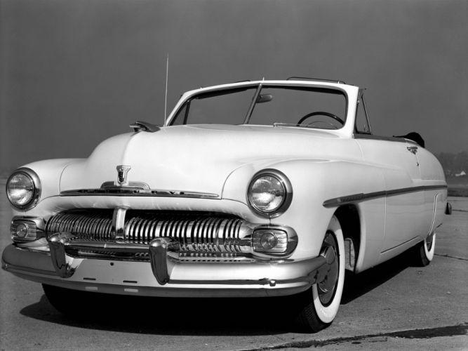 1951 Mercury Monterey Convertible retro wallpaper