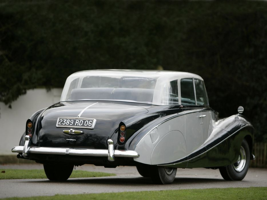1951 Rolls Royce Wraith Perspex retro luxury f wallpaper