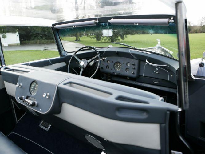 1951 Rolls Royce Wraith Perspex retro luxury interior d wallpaper