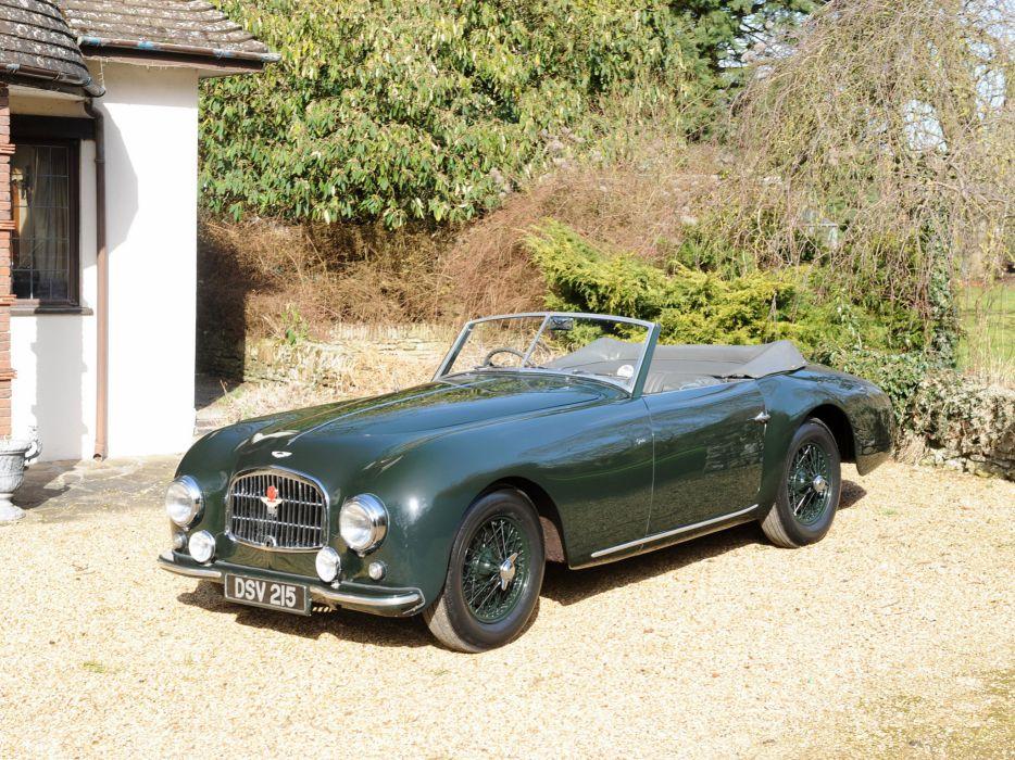 1952 Aston Martin DB2 Vantage retro        g wallpaper