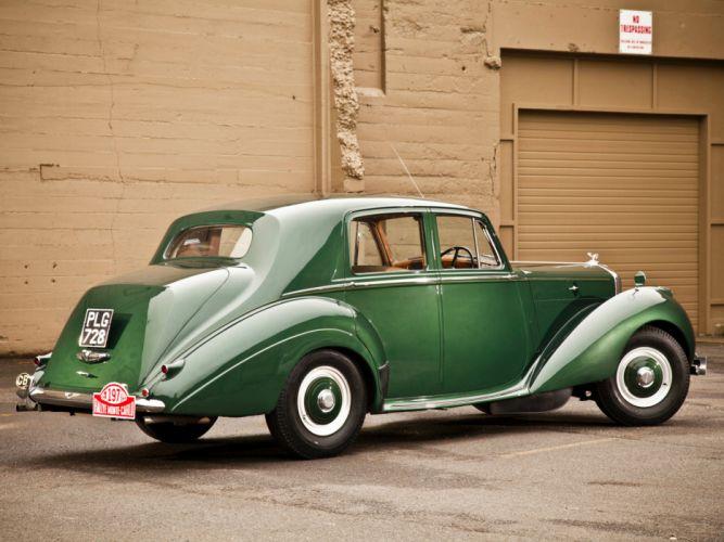 1952 Bentley R-Type Standard Saloon retro luxury gd wallpaper