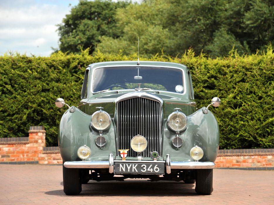 1952 Bentley R-Type Standard Saloon retro luxury      g wallpaper