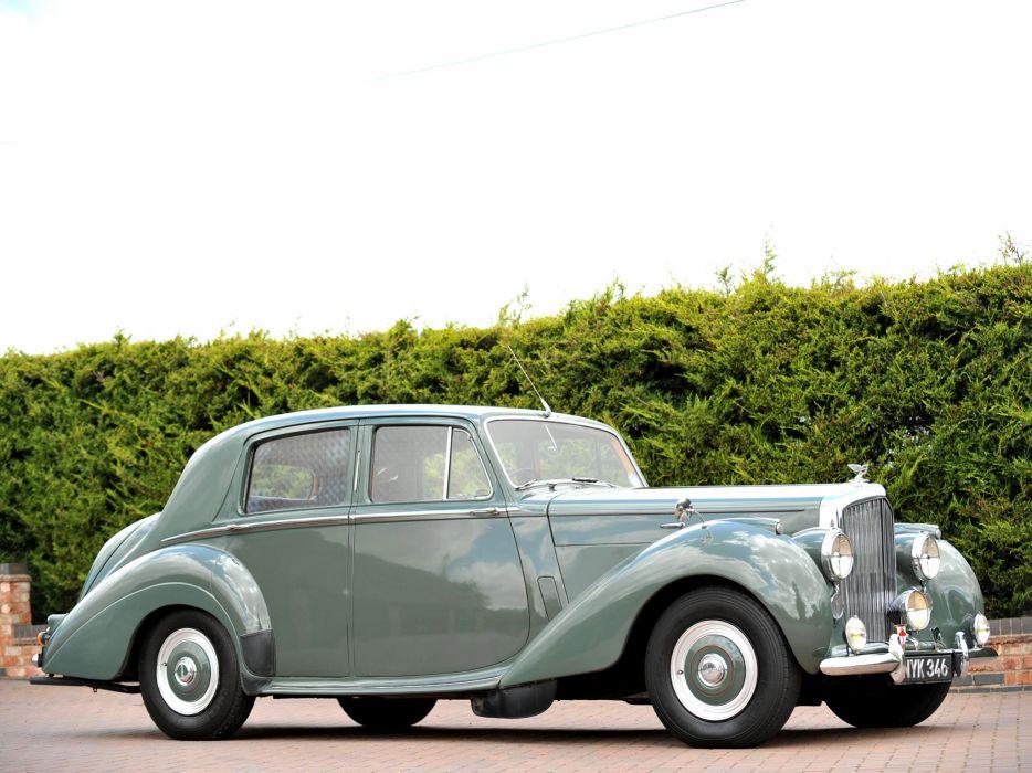 1952 Bentley R-Type Standard Saloon retro luxury     fd wallpaper