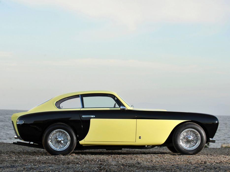 1952 Ferrari 212 Inter Vignale Coupe Bumblebee retro supercar supercars    f wallpaper