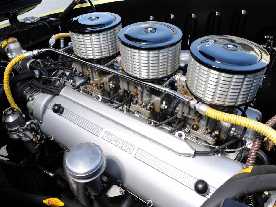 1952 Ferrari 212 Inter Vignale Coupe Bumblebee retro supercar supercars engine engines wallpaper