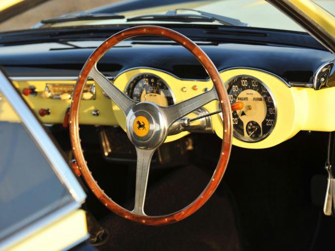 1952 Ferrari 212 Inter Vignale Coupe Bumblebee retro supercar supercars interior wallpaper