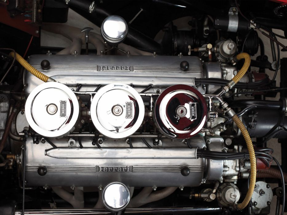 1952 Ferrari 225 S Berlinetta retro supercar supercars engine engines     f wallpaper