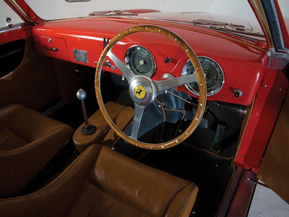 1952 Ferrari 225 S Berlinetta retro supercar supercars interior wallpaper