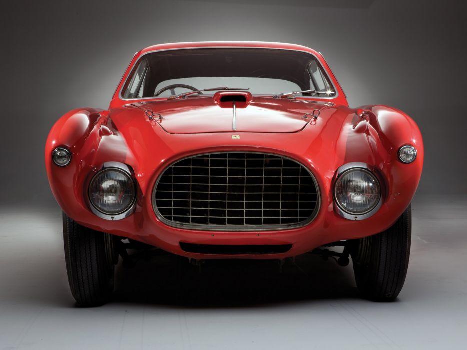 1952 Ferrari 340 Mexico Vignale Berlinetta retro supercar supercars       f wallpaper