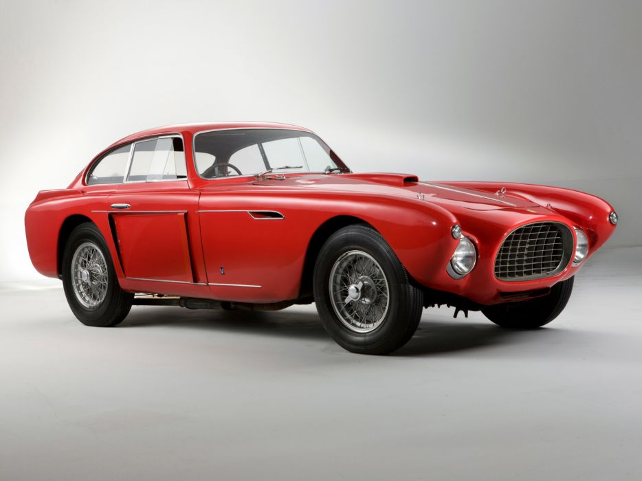 1952 Ferrari 340 Mexico Vignale Berlinetta retro supercar supercars       f wallpaper