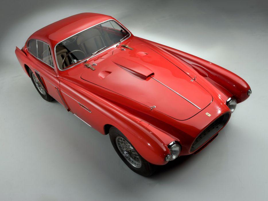 1952 Ferrari 340 Mexico Vignale Berlinetta retro supercar supercars     fs wallpaper