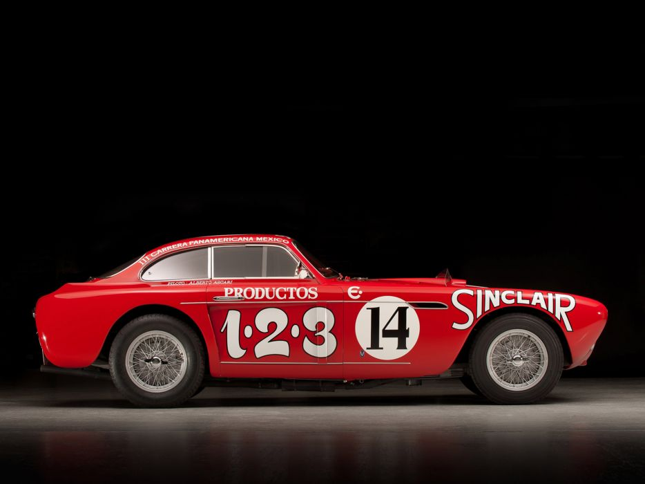1952 Ferrari 340 Mexico Vignale Berlinetta retro supercar supercars race racing        fb wallpaper
