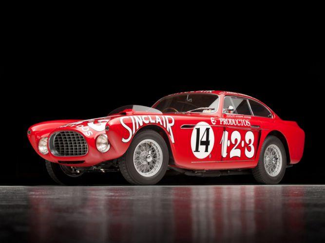 1952 Ferrari 340 Mexico Vignale Berlinetta retro supercar supercars race racing fd wallpaper