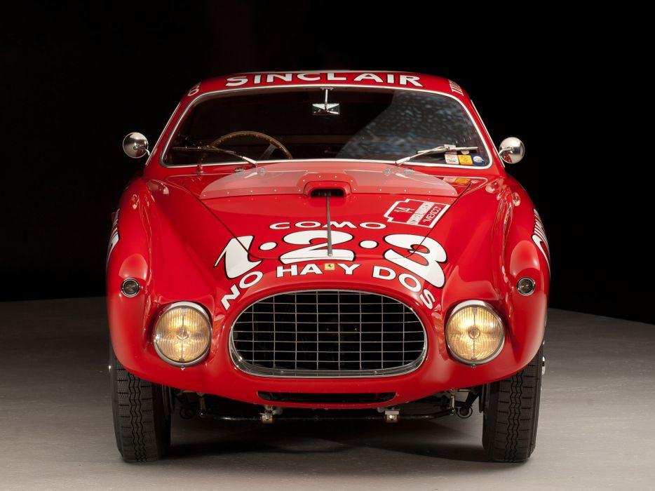 1952 Ferrari 340 Mexico Vignale Berlinetta retro supercar supercars race racing       g wallpaper