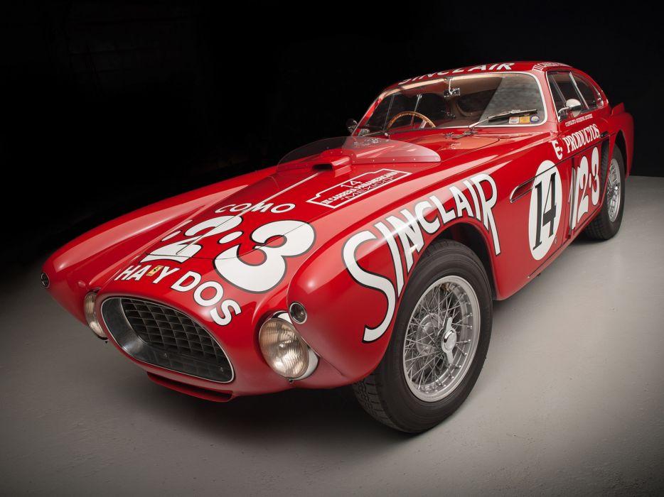 1952 Ferrari 340 Mexico Vignale Berlinetta retro supercar supercars race racing        ff wallpaper