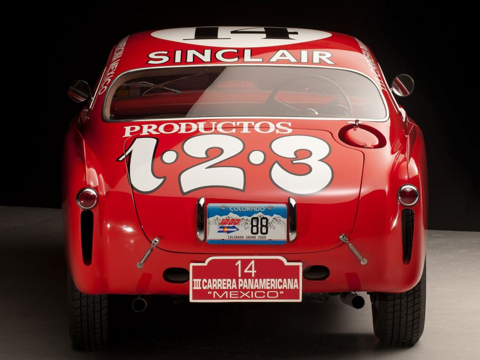 1952 Ferrari 340 Mexico Vignale Berlinetta retro supercar supercars race racing       r wallpaper