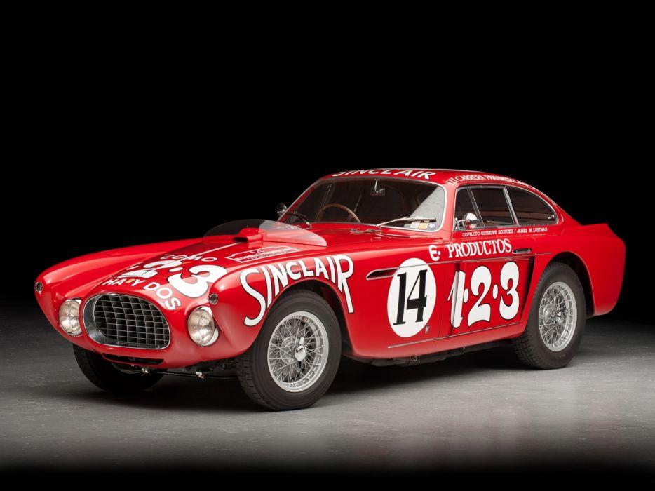 1952 Ferrari 340 Mexico Vignale Berlinetta retro supercar supercars race racing wallpaper