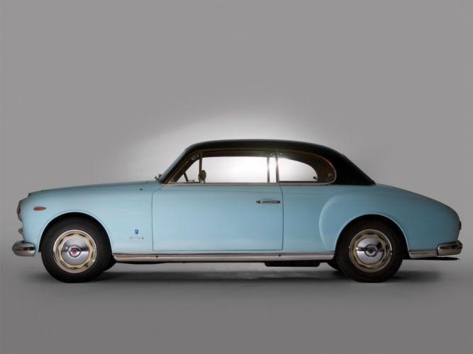 1952 Lancia Aurelia B53 Coupe retro f wallpaper
