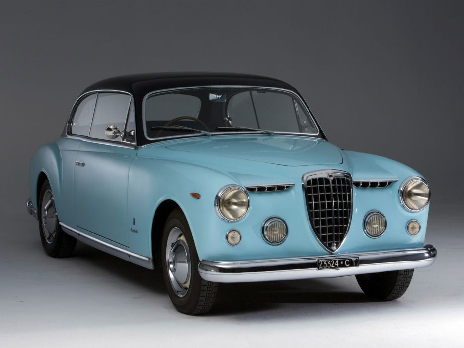 1952 Lancia Aurelia B53 Coupe retro wallpaper