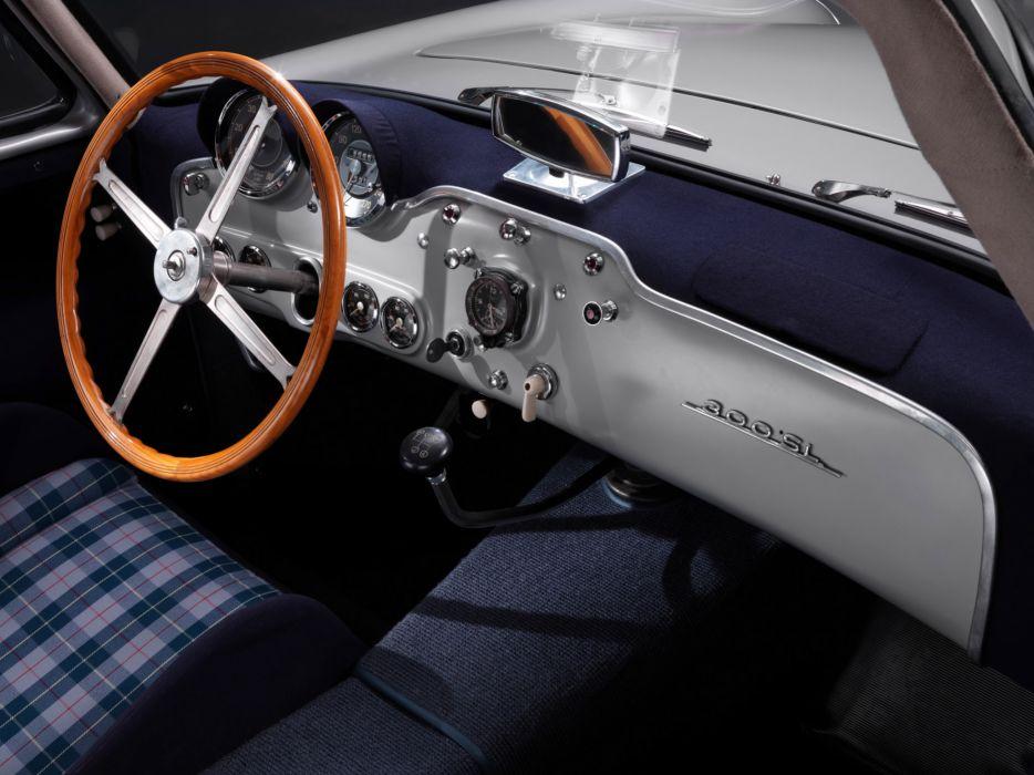 1952 Mercedes Benz 300SL W194 supercar supercars retro interior wallpaper