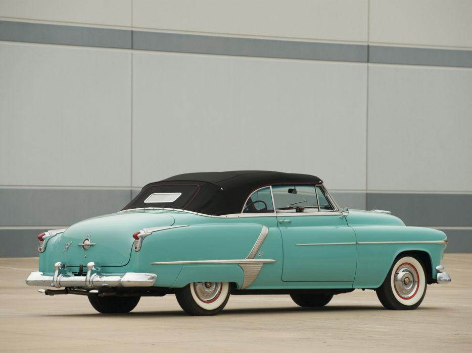 1952 Oldsmobile Super 88 Convertible 8-8 retro   f wallpaper