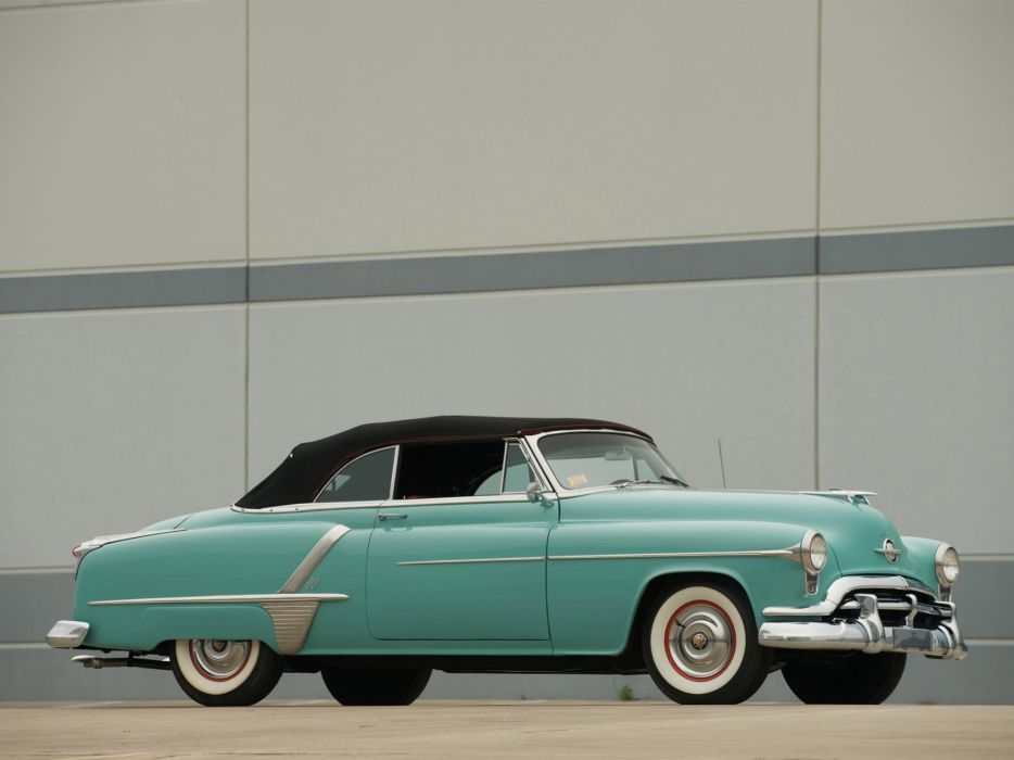1952 Oldsmobile Super 88 Convertible 8-8 retro wallpaper