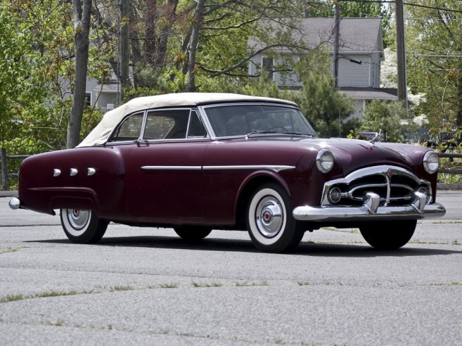 1952 Packard 250 Convertible Coupe retro f wallpaper