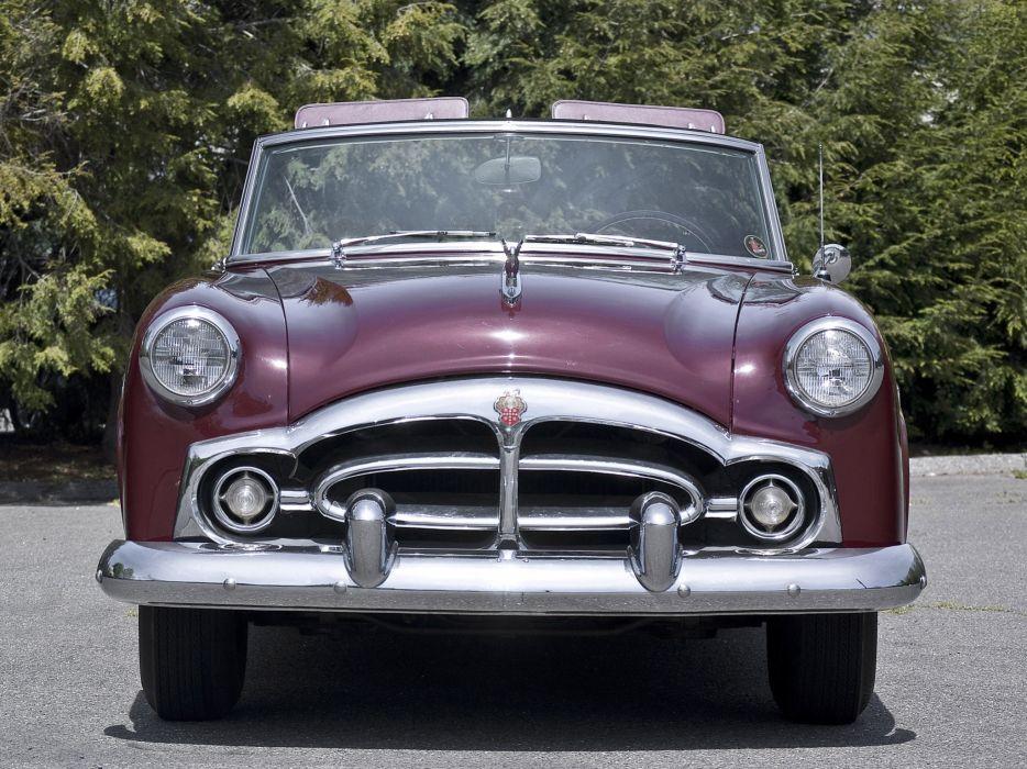 1952 Packard 250 Convertible Coupe retro wallpaper