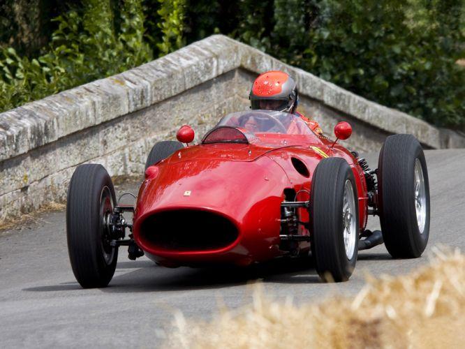 1952 Scuderia Ferrari 500 L-4 retro race racing wallpaper