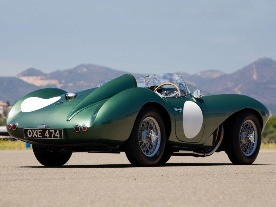 1953 Aston Martin DB3 S retro supercar supercars race racing    f wallpaper