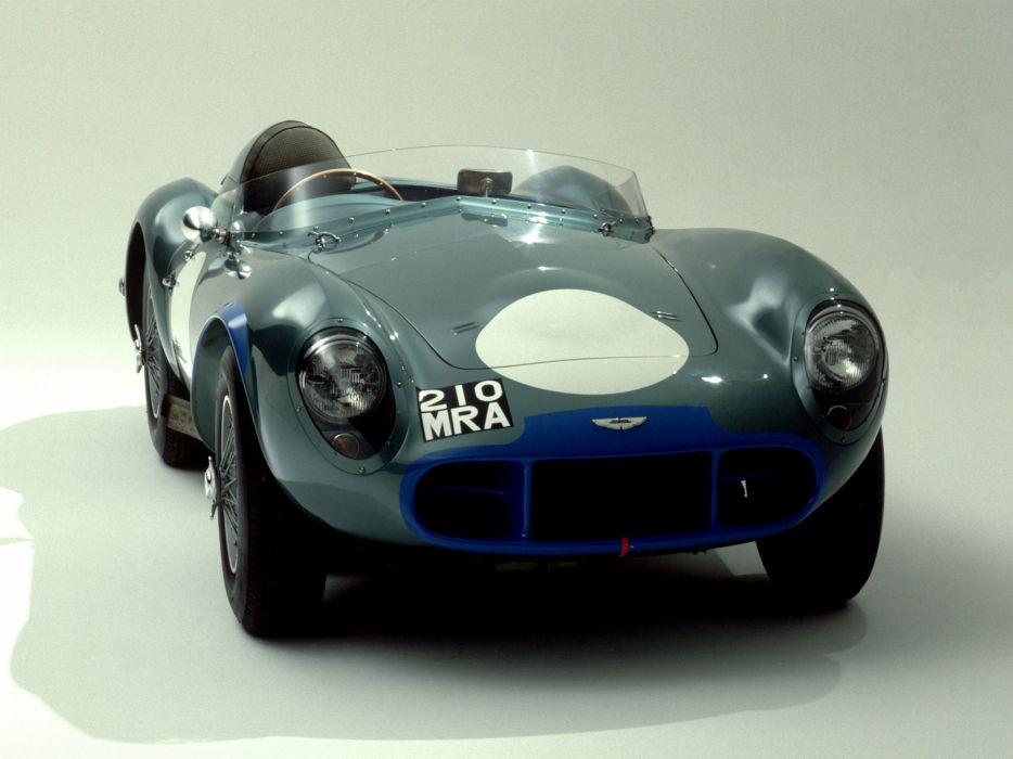 1953 Aston Martin DB3 S retro supercar supercars race racing  d wallpaper