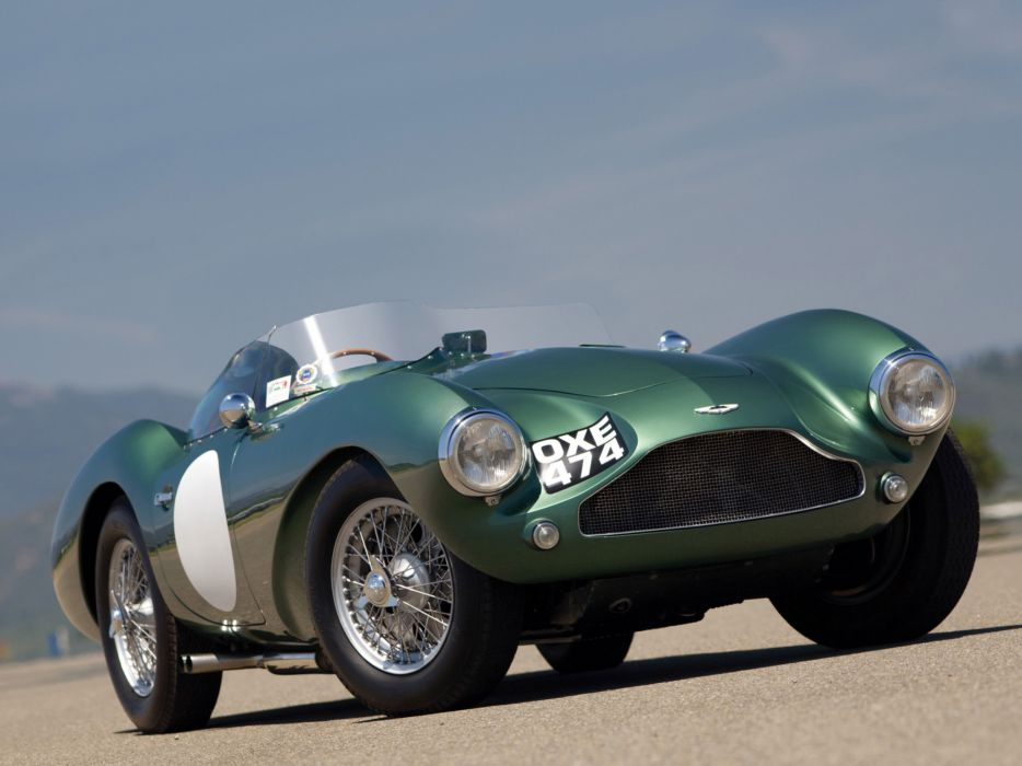 1953 Aston Martin DB3 S retro supercar supercars race racing wallpaper