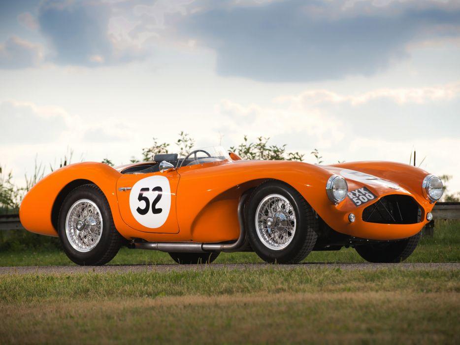 1953 Aston Martin DB3S retro supercar supercars race racing      d wallpaper