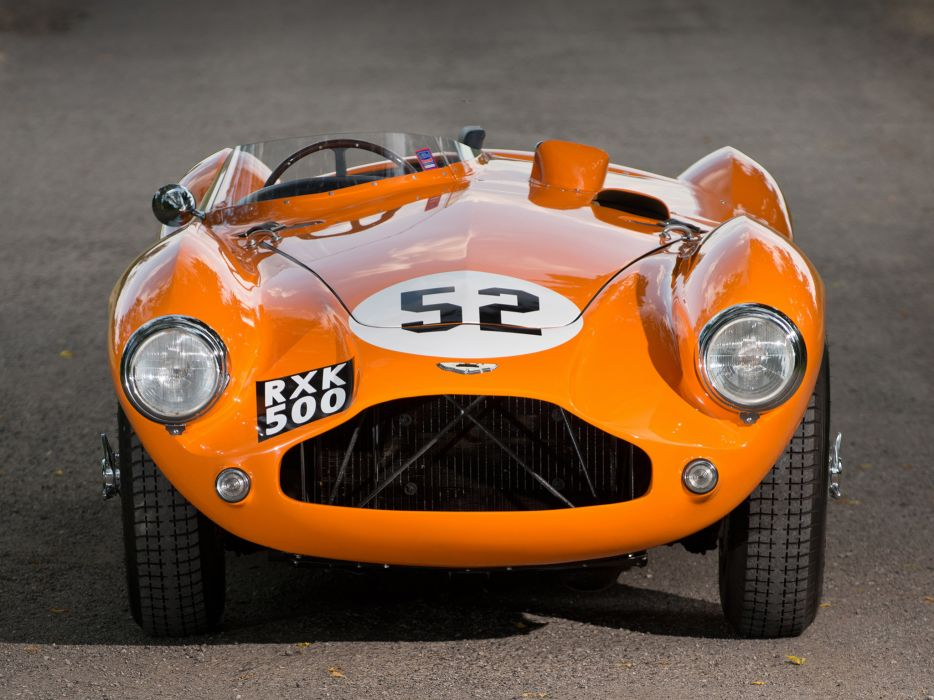 1953 Aston Martin DB3S retro supercar supercars race racing d wallpaper