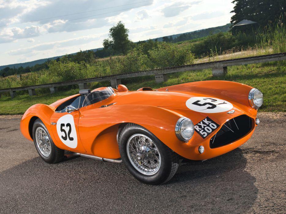 1953 Aston Martin DB3S retro supercar supercars race racing wallpaper