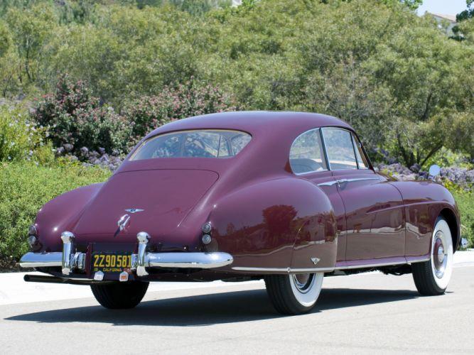 1953 Bentley R-Type Continental Fastback retro luxury f wallpaper