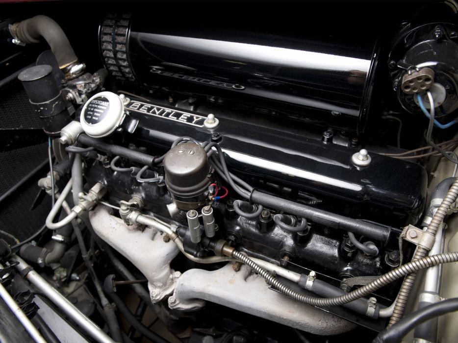 1953 Bentley R-Type Continental Fastback retro luxury engine engines wallpaper