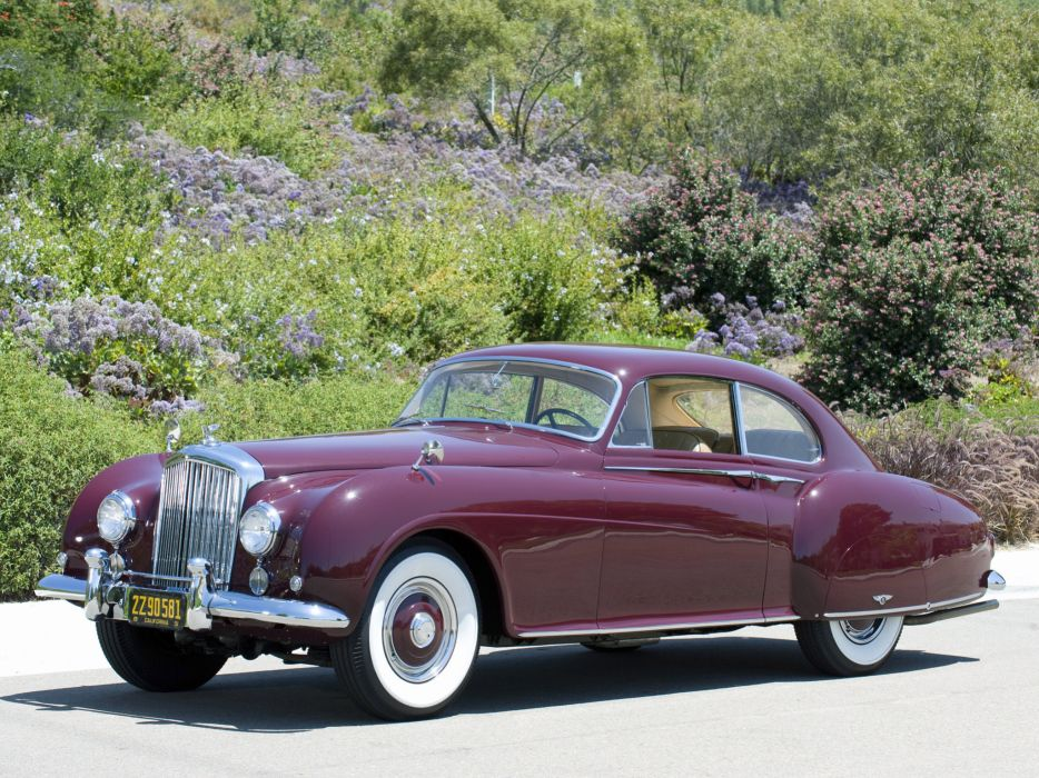 1953 Bentley R-Type Continental Fastback retro luxury wallpaper