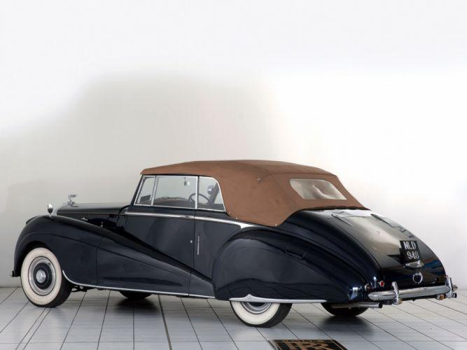 1953 Bentley R-Type Drophead Coupe Park Ward luxury retro g wallpaper