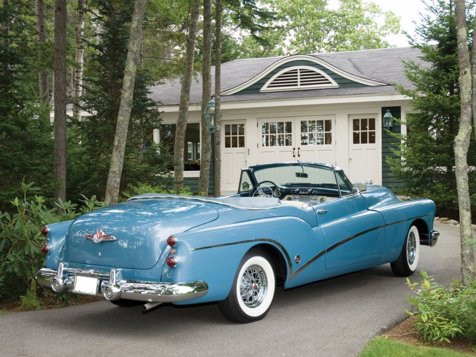 1953 Buick Skylark retro      f wallpaper