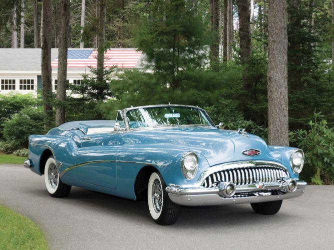 1953 Buick Skylark retro wallpaper