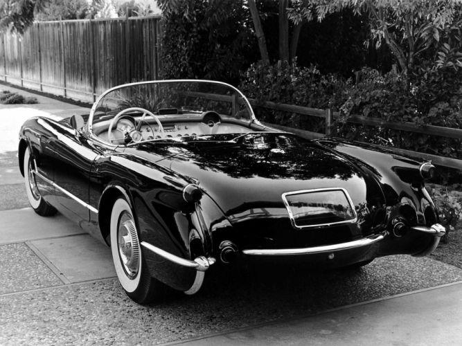 1953 Chevrolet Corvette C1 retro supercar supercars muscle c-1 f wallpaper