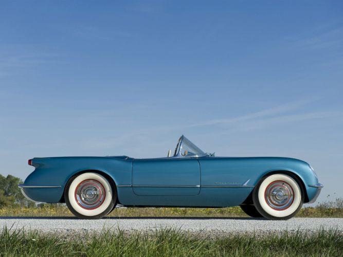 1953 Chevrolet Corvette C1 retro supercar supercars muscle c-1 fd wallpaper