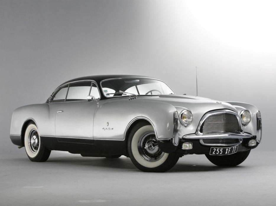 1953 Chrysler Thomas Special Concept retro       f wallpaper