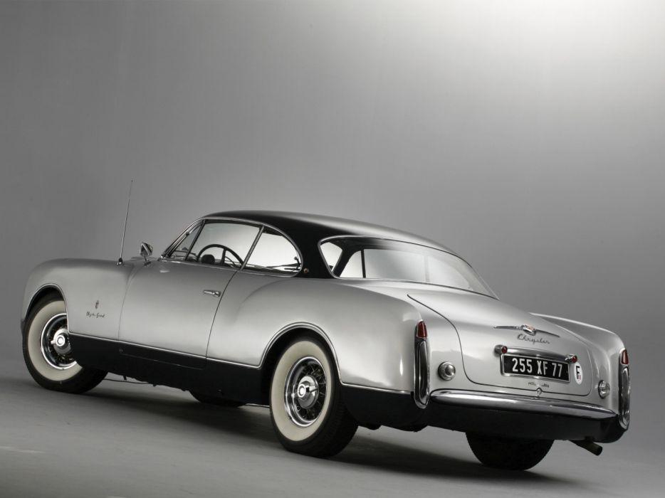 1953 Chrysler Thomas Special Concept retro     g wallpaper