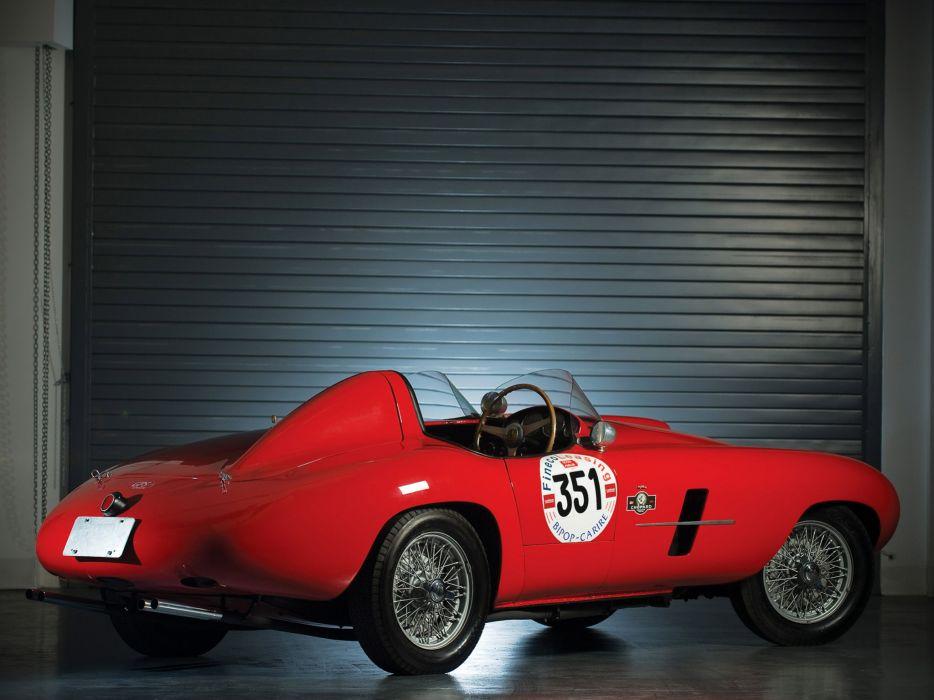 1953 Ferrari 166 MM Spider Scaglietti retro supercar supercars race racing f wallpaper