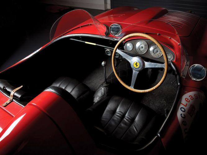 1953 Ferrari 166 MM Spider Scaglietti retro supercar supercars race racing interior wallpaper