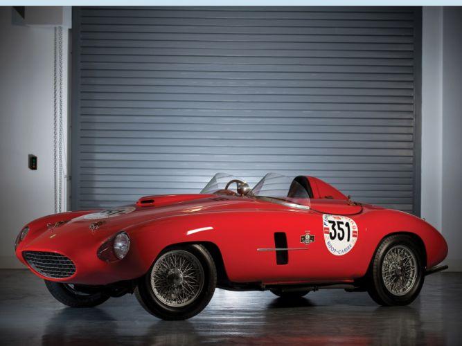 1953 Ferrari 166 MM Spider Scaglietti retro supercar supercars race racing wallpaper